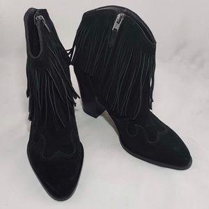NWOB! Sam Edelman Black Benjie Ankle Bootie